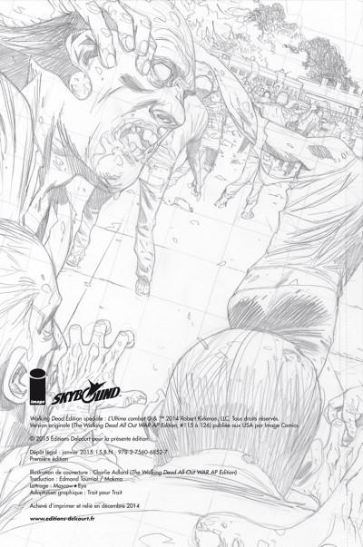 Page 1 Walking dead - l'ultime combat (édition spéciale)