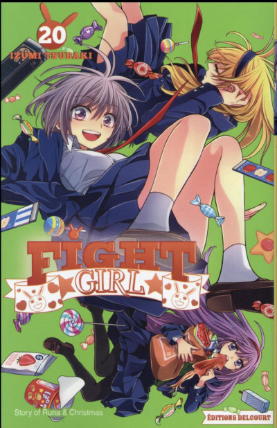 Couverture Fight girl tome 20