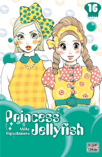 Couverture Princess jellyfish tome 16