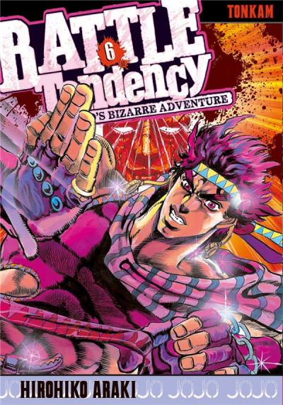 Couverture Jojo's Bizarre Adventure - Battle Tendency tome 6