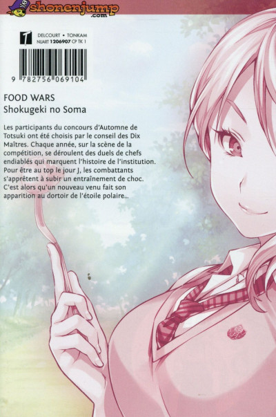 Dos Food Wars tome 6