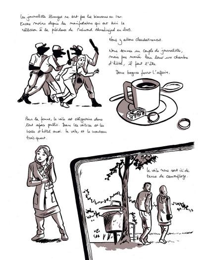 Page 1 Love story à l'iranienne