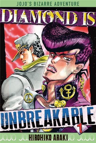 Couverture Jojo's Bizarre Adventure - Diamond is Unbreakable tome 1