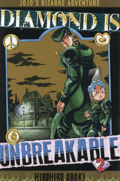 Couverture Jojo's Bizarre Adventure - Diamond is Unbreakable tome 2