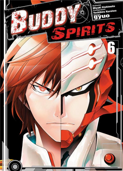 Couverture Buddy Spirits tome 6