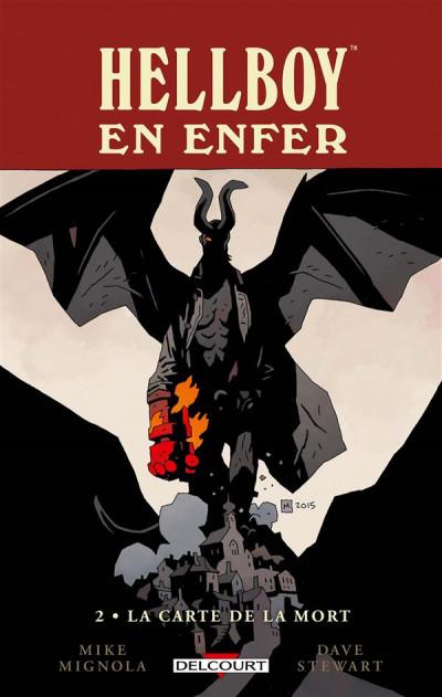 Couverture Hellboy en enfer tome 2