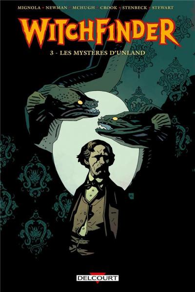 Couverture Witchfinder tome 3 - Les Mystères d'Unland