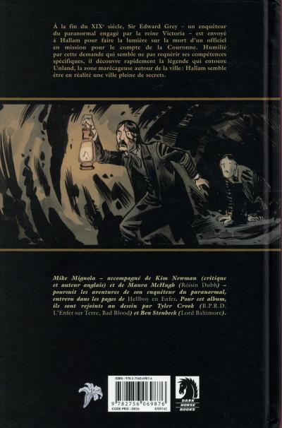 Dos Witchfinder tome 3 - Les Mystères d'Unland