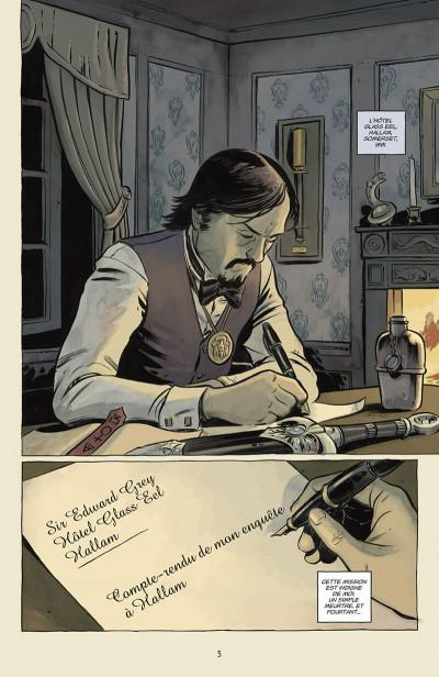 Page 6 Witchfinder tome 3 - Les Mystères d'Unland