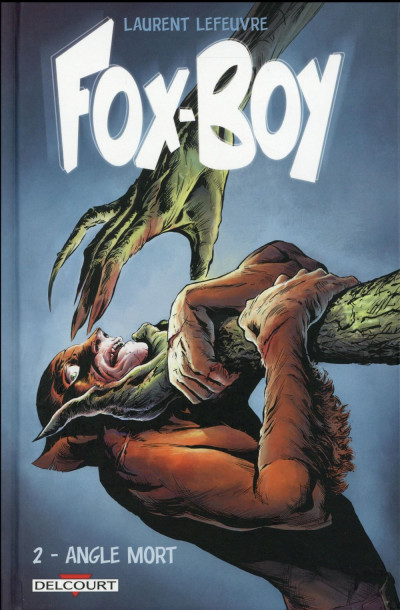 Couverture Fox-Boy tome 2