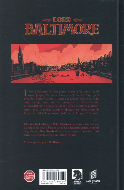 Dos Lord Baltimore tome 4