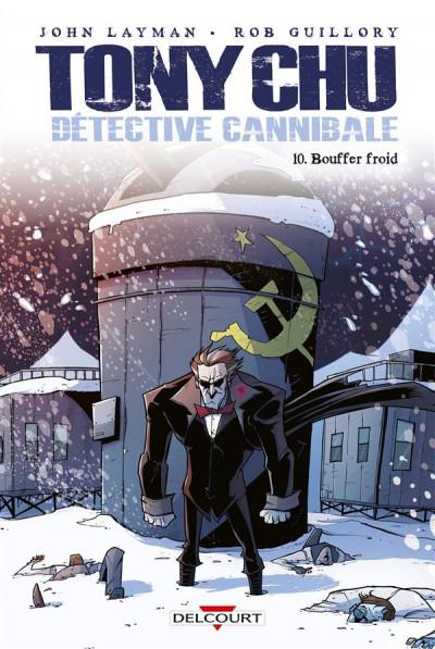 Couverture Tony Chu, détective cannibale tome 10