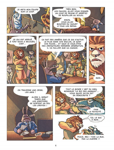 Page 4 Panique au zoo