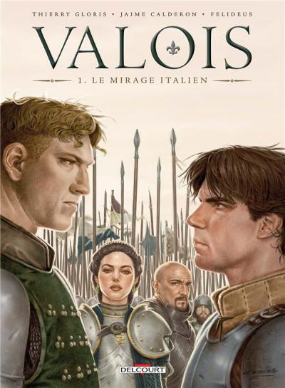 Couverture Valois tome 1 + ex-libris offert