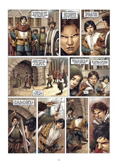 Page 3 Valois tome 1 + ex-libris offert