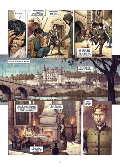 Page 4 Valois tome 1 + ex-libris offert