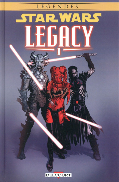 Couverture Star Wars - Legacy tome 1 (édition 2015)