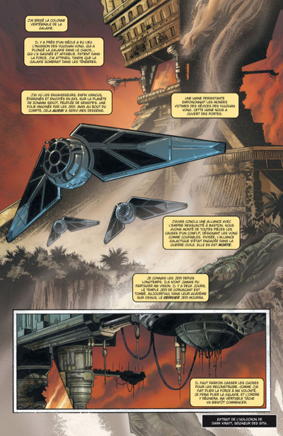 Page 1 Star Wars - Legacy tome 1 (édition 2015)