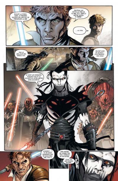 Page 3 Star Wars - Legacy tome 1 (édition 2015)