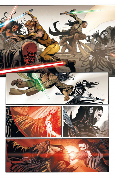 Page 4 Star Wars - Legacy tome 1 (édition 2015)