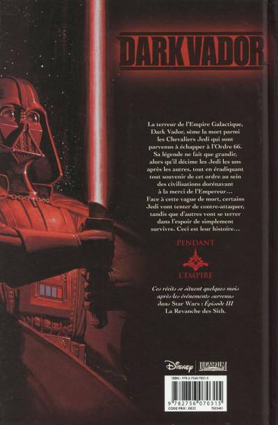 Dos Star Wars - Dark Vador tome 1 - La Purge Jedi