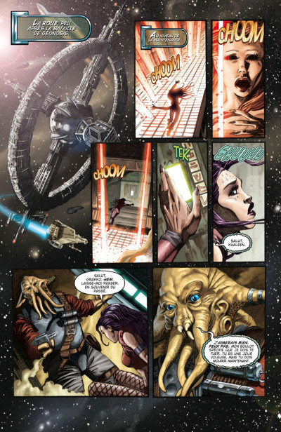 Page 1 Star Wars - Clone Wars tome 1 (édition 2015)