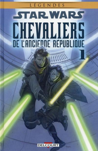 Couverture Star Wars - Chevaliers de l'Ancienne République tome 1 (édition 2015)