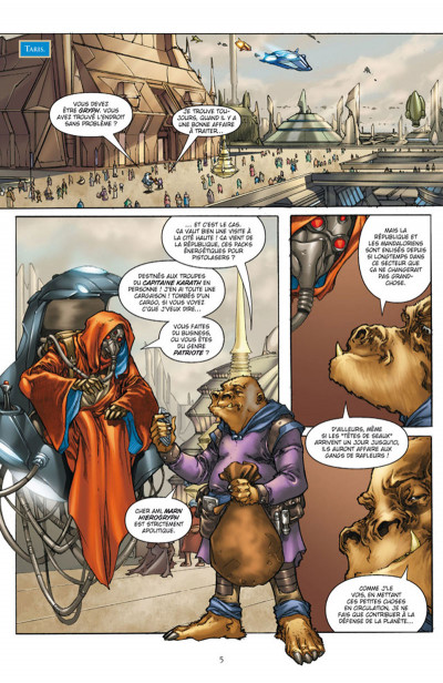 Page 1 Star Wars - Chevaliers de l'Ancienne République tome 1 (édition 2015)