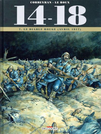 Couverture 14-18 tome 7 - Le diable rouge (avril 1917)