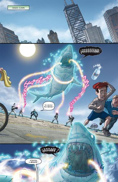 Page 1 Ghostbusters tome 4 - Pour quelques protons de plus