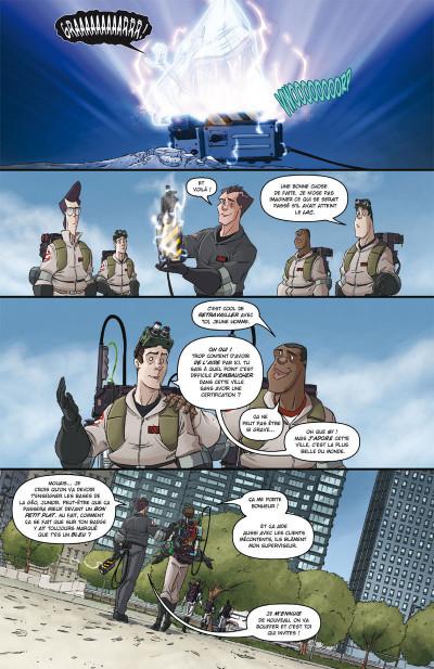 Page 3 Ghostbusters tome 4 - Pour quelques protons de plus