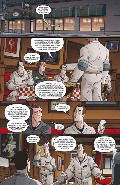 Page 4 Ghostbusters tome 4 - Pour quelques protons de plus