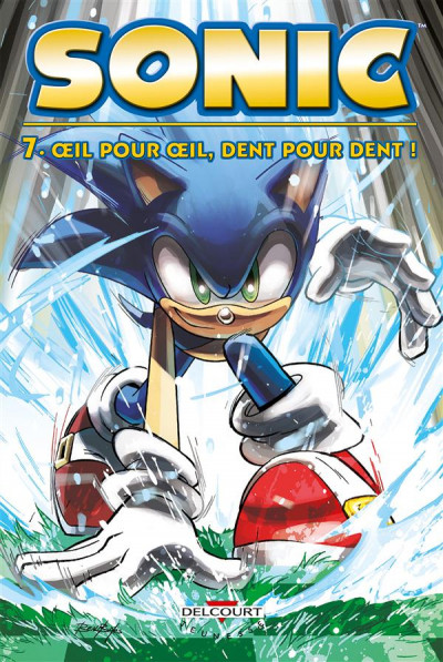 Couverture Sonic tome 7
