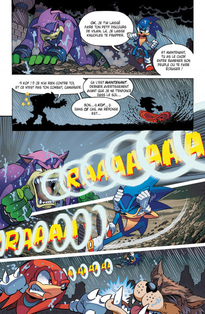 Page 2 Sonic tome 7