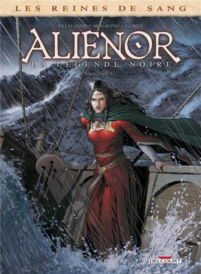 Couverture Les reines de sang - Aliénor, la légende noire tome 5