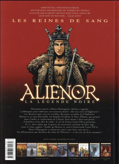 Dos Les reines de sang - Aliénor, la légende noire tome 5