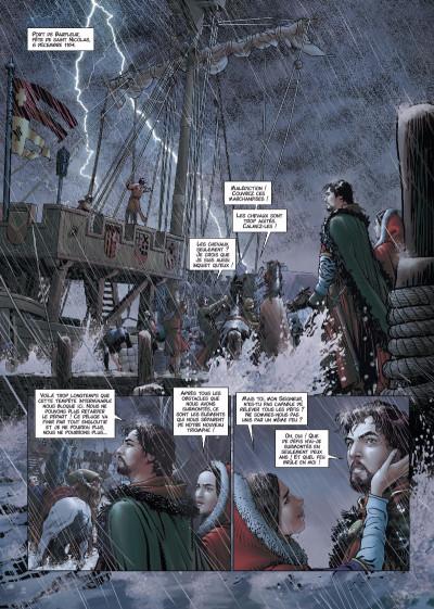 Page 1 Les reines de sang - Aliénor, la légende noire tome 5