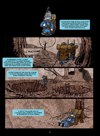 Page 2 La petite mort tome 3