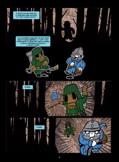 Page 3 La petite mort tome 3