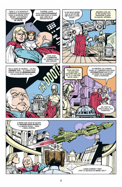 Page 9 Star Wars - Classic tome 3
