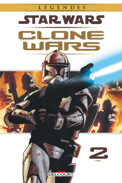 Couverture Star Wars - Clone Wars tome 2 (édition 2015)
