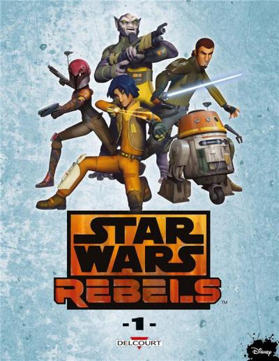 Couverture Star Wars - Rebels tome 1