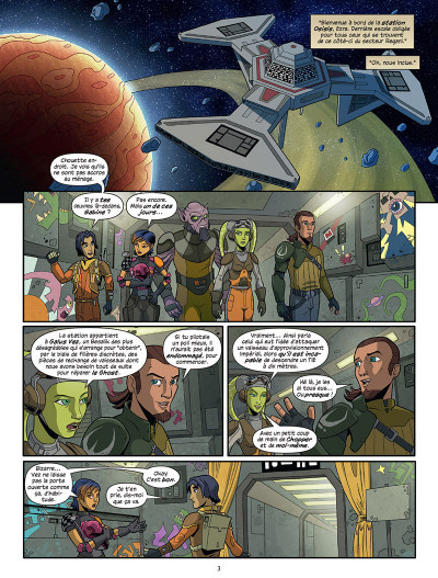 Page 1 Star Wars - Rebels tome 1