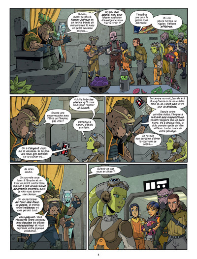 Page 2 Star Wars - Rebels tome 1
