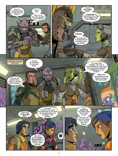 Page 3 Star Wars - Rebels tome 1