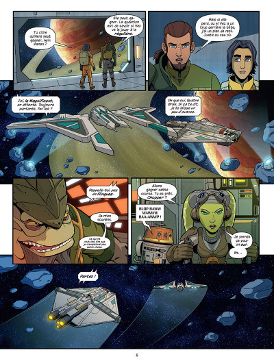 Page 4 Star Wars - Rebels tome 1