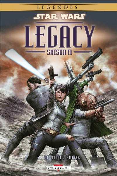 Couverture Star Wars - Legacy Saison II tome 4