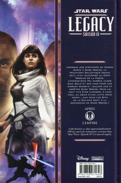 Dos Star Wars - Legacy Saison II tome 4