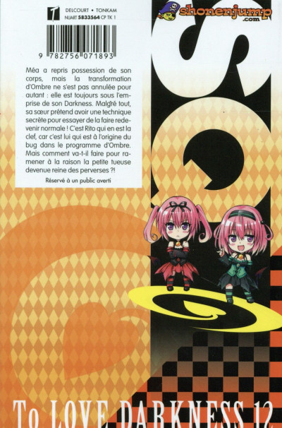 Dos To Love - Darkness tome 12