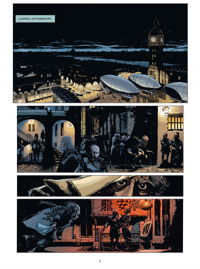 Page 1 Moriarty tome 1 + ex-libris offert